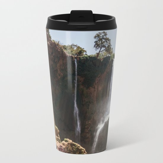 Ouzoud Waterfall Morocco Metal Travel Mug