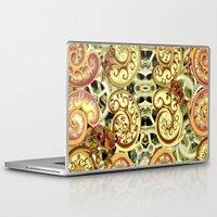 clockwork Laptop & iPad Skins featuring Clockwork. by Sylvie Heasman