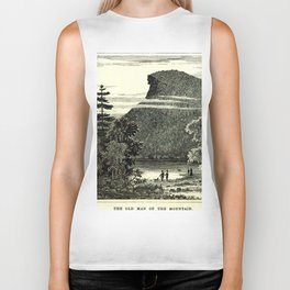 The Old Man of the Mountain Biker Tank