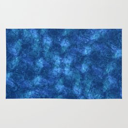 I'm Blue; Fluid Abstract 57 Rug