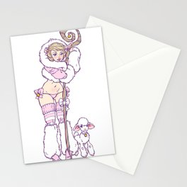 The Shepherdess Stationery Cards