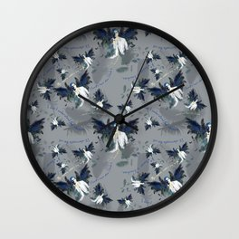 Castiel with Quotes Wall Clock