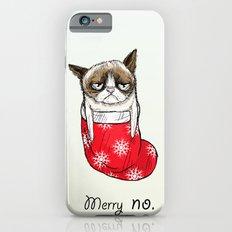 grumpy christmas iPhone 6s Slim Case