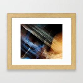 Super Aqua Bat Man Framed Art Print