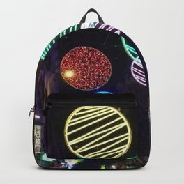 Night in the city Backpack