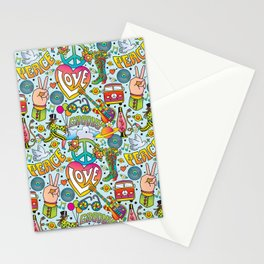 Peace&Love Stationery Cards