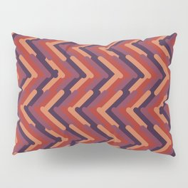 Sands and Waves Geometric Pattern Pillow Sham