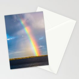 Magnificent rainbow Stationery Cards