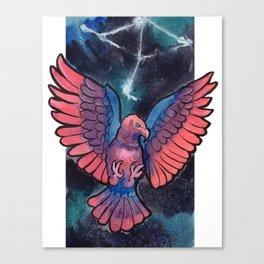 Constelltion Aquila Canvas Print