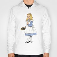 toddler Hoodies featuring Alice by Tom Tierney Studios