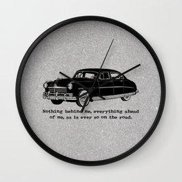 Jack Kerouac - On the Road - Hudson Car Wall Clock