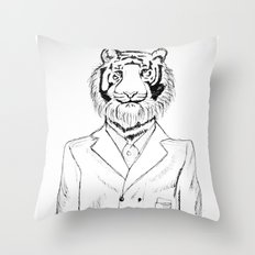 Fine Feline  Throw Pillow