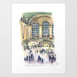 Grand Central Terminal Art Print