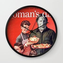 Michael Myers as Good Father Wall Clock