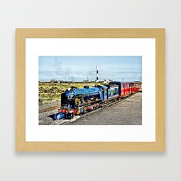 Romney Hythe and Dymchurch Railway Framed Art Print