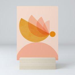 Abstraction_BIRD_Balance_Mountains_Minimalism_001 Mini Art Print