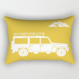 Landrover Defender 110 Rectangular Pillow
