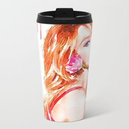 Bobshell's Away Metal Travel Mug