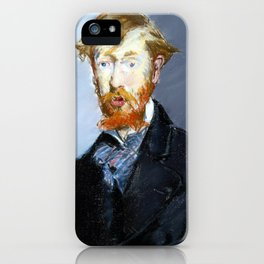 Édouard Manet George Moore iPhone Case