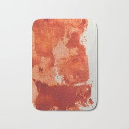 Trick or treat, all red! Bath Mat