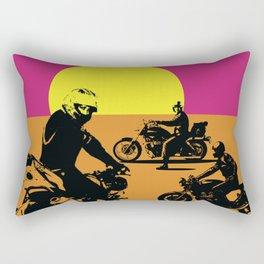 The Endless Summer for Motorcycling Rectangular Pillow