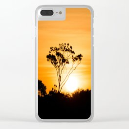 Amazon Sunset Clear iPhone Case