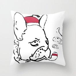 Ruffsevelt Throw Pillow