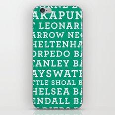 Life's a beach - Emerald iPhone & iPod Skin