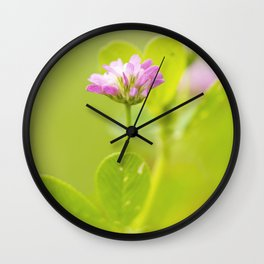 Pink beauty Wall Clock