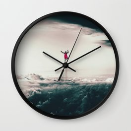 Superman Fan Art Wall Clock