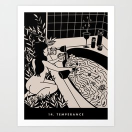 14. TEMPERANCE Kunstdrucke