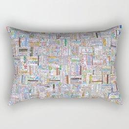 Public Transportation Rectangular Pillow