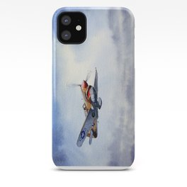 P-40 Warhawk Aircraft iPhone Case