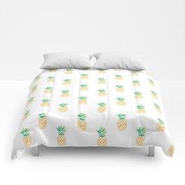 Summer Pineapple Comforters