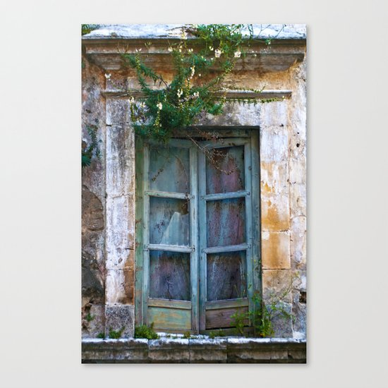 Abandoned Sicilian House in Noto Canvas Print