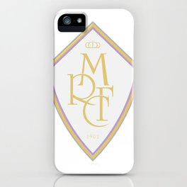Madrid Blanco Badge iPhone Case