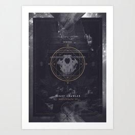 Bassferatu  Art Print