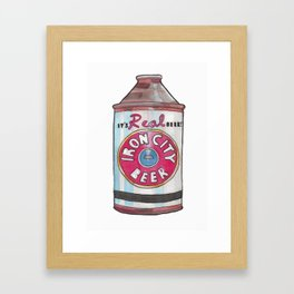 Vintage Beer 2 Framed Art Print