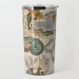 Constellations Andromeda, Pegasus, Cetus and Aries Travel Mug