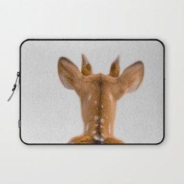 deer back view  Laptop Sleeve
