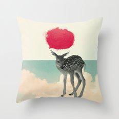 Little Deer Throw Pillow