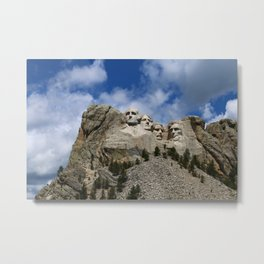 Mount Rushmore National Memorial Metal Print
