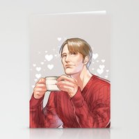 hannibal Stationery Cards featuring Hannibal by Drag Me To Work