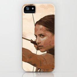 Lara iPhone Case