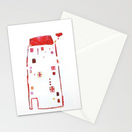 Rains inside... Stationery Cards