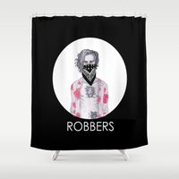 1975 Shower Curtains featuring Robbers by CamillasOfficial