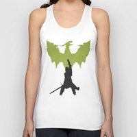 dragon age inquisition Tank Tops featuring Dragon Age: Inquisition V2 by FelixT