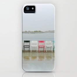 chair family iPhone Case