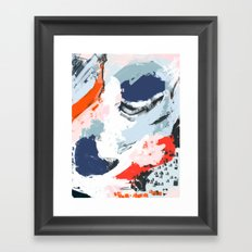 Abstract Color Pop Framed Art Print