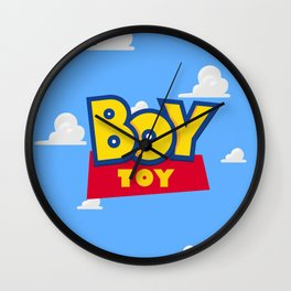 Boy Toy Wall Clock